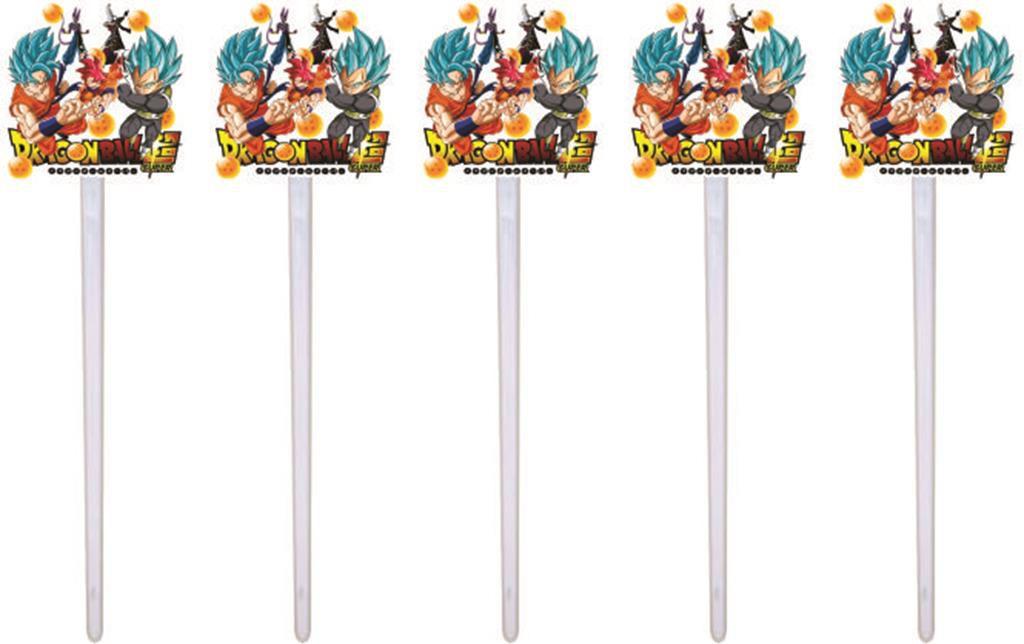 Kit Festa Dragon Ball Super 160 Peças (20 pessoas)