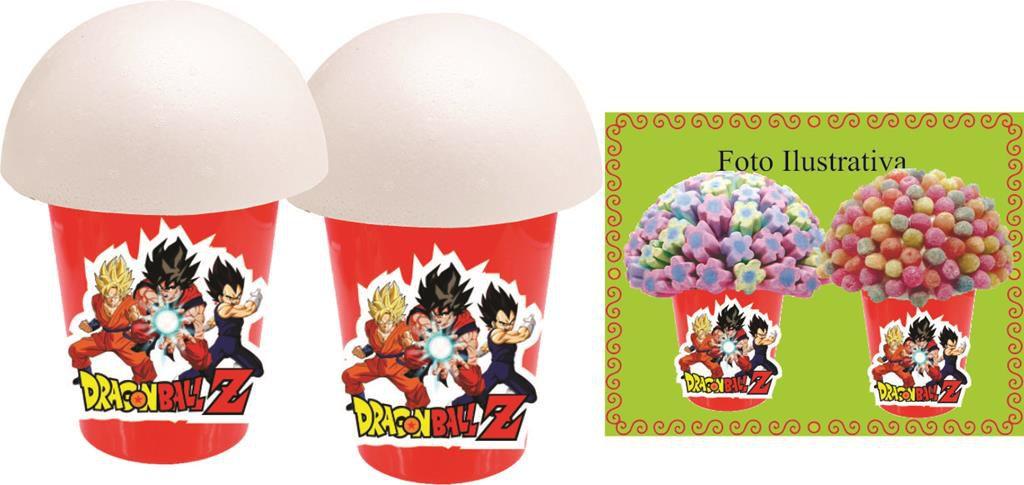 kit festa infantil Dragon Ball Z 143 peças (20 pessoas)