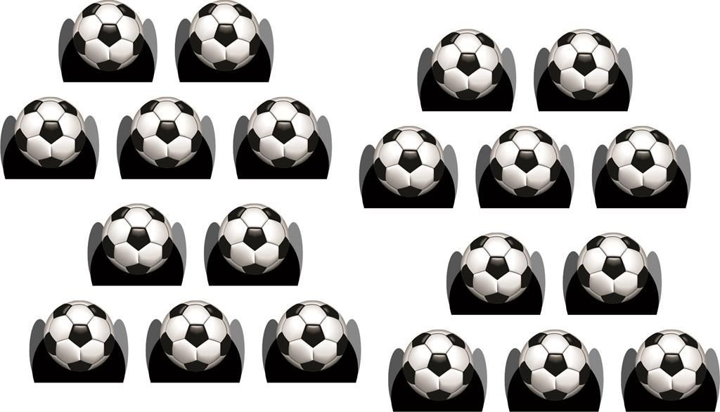Kit Festa Infantil Futebol (preto) 143 Peças (20 pessoas)