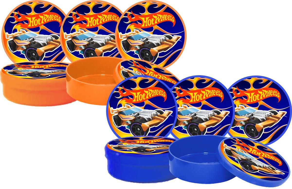 Kit Festa Infantil Hot Wheels 178 Pças (20 pessoas)