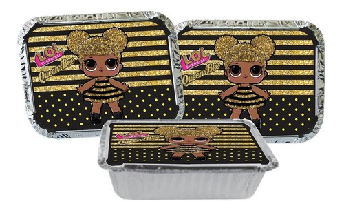 Kit Festa Infantil Lol Queen Bee 111 Peças (10 Pessoas)