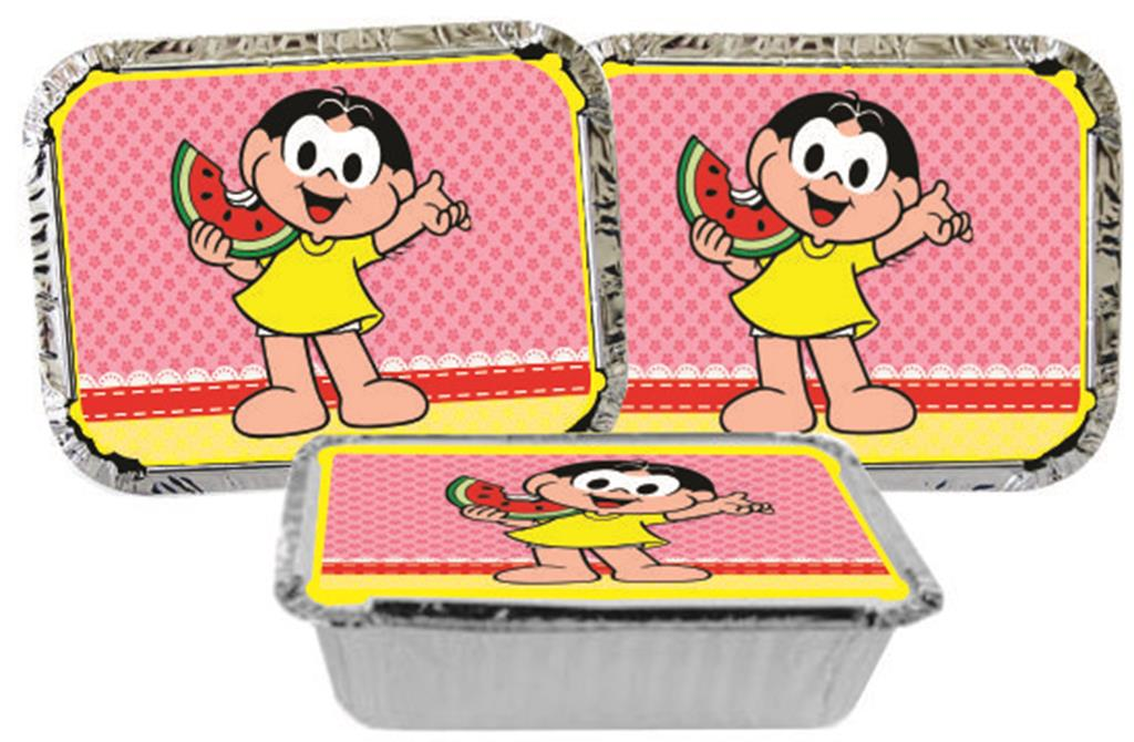 kit festa Infantil Magali 160 peças (20 pessoas)