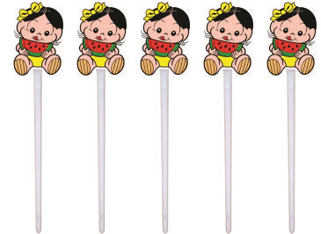 Kit festa Infantil Magali Baby 160 peças (20 pessoas)