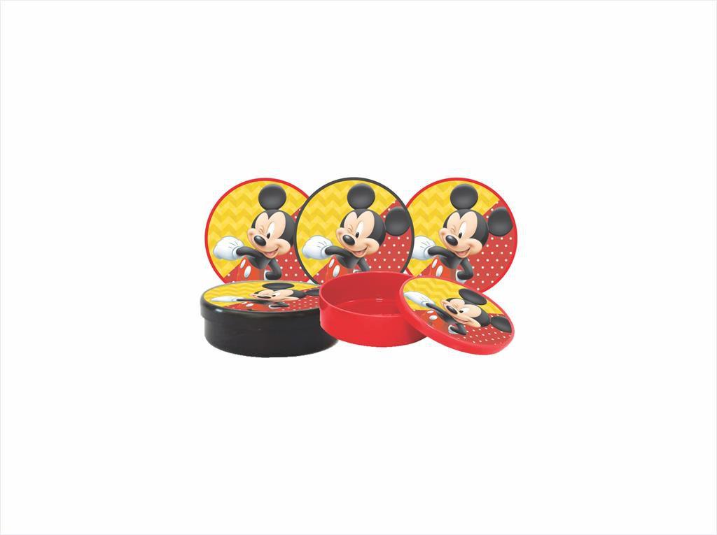 Kit Festa Infantil Mickey 352 Peças (50 pessoas)