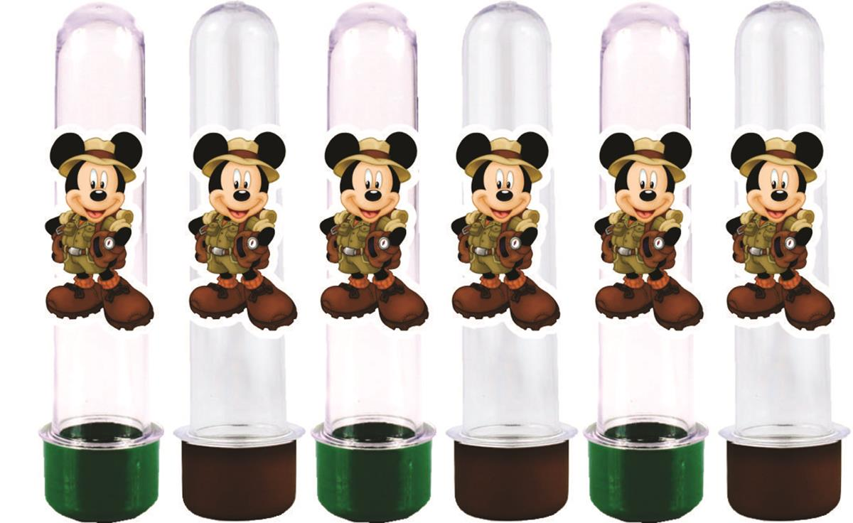 Kit Festa Infantil Mickey Safari 292 Peças (30 pessoas)