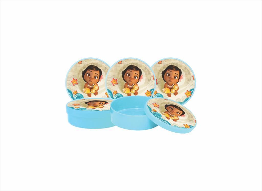 Kit Festa Infantil Moana Baby 265 Peças (30 pessoas)