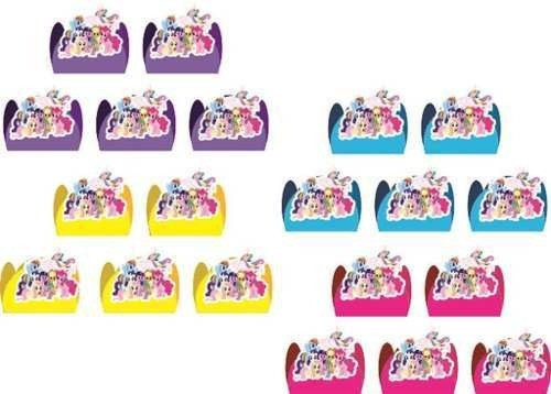Kit Festa Infantil My Little Pony 55 Peças (5 Pessoas)
