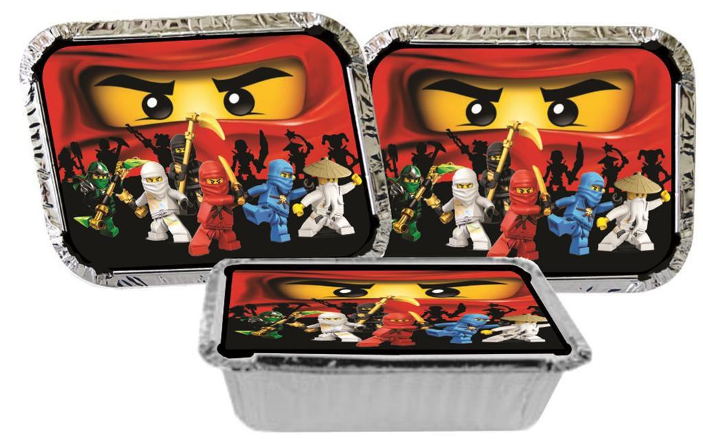 Kit festa infantil Ninjago 160 peças (20 pessoas)
