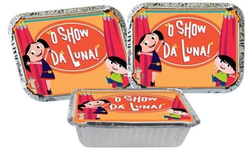 Kit Festa Infantil O Show Da Luna 106 Peças (10 pessoas)