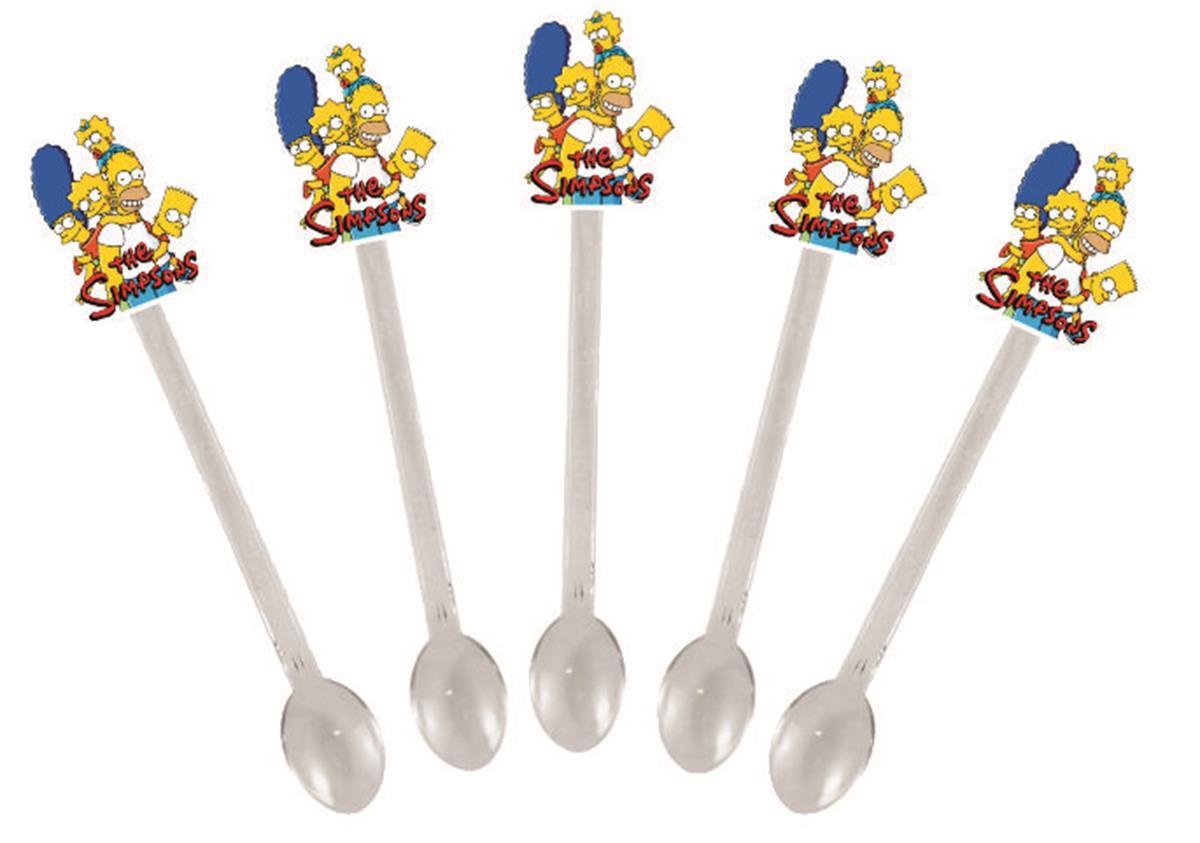 Kit Festa Infantil Os Simpsons 292 Peças (30 pessoas)