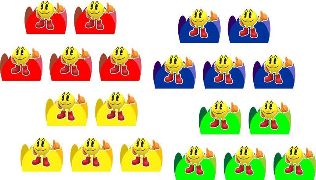 Kit Festa Infantil Pac Man 160 Peças (20 pessoas)