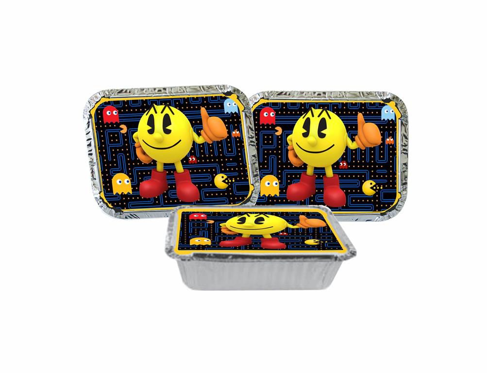 Kit Festa Infantil Pac Man 292 Peças (30 pessoas)