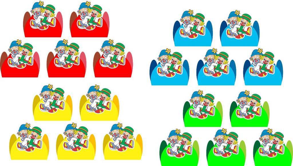 Kit festa Infantil Patati Patatá 143 peças (20 pessoas)
