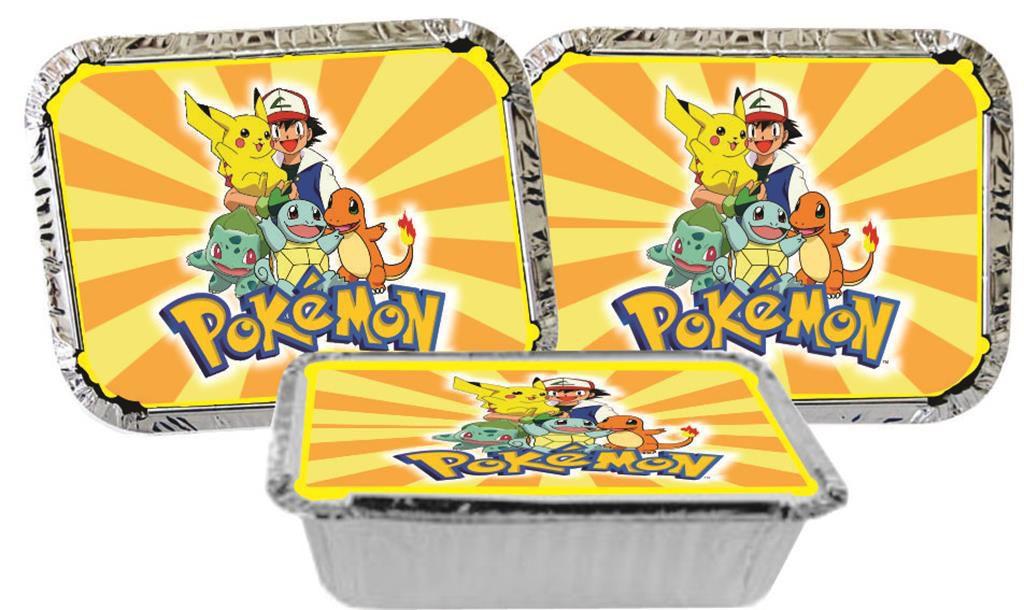 Kit festa Infantil Pokemón 160 peças (20 pessoas)