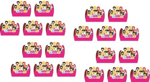 Kit Festa Infantil Princesas Baby 107 Peças (10 Pessoas)