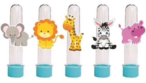 Kit Festa Infantil Safari Menino 143 peças (20 pessoas)