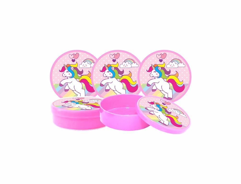 Kit Festa Infantil Unicornio 143 Peças (20 pessoas)