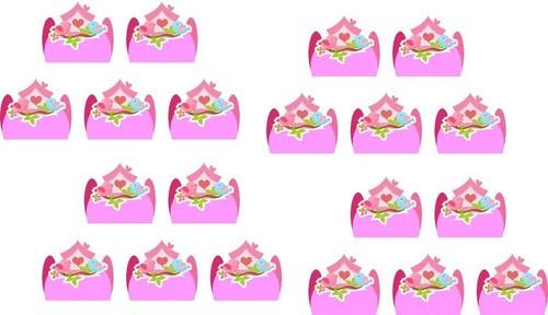 Kit festa Jardim Encantado passarinhos 99 peças (10 pessoas)
