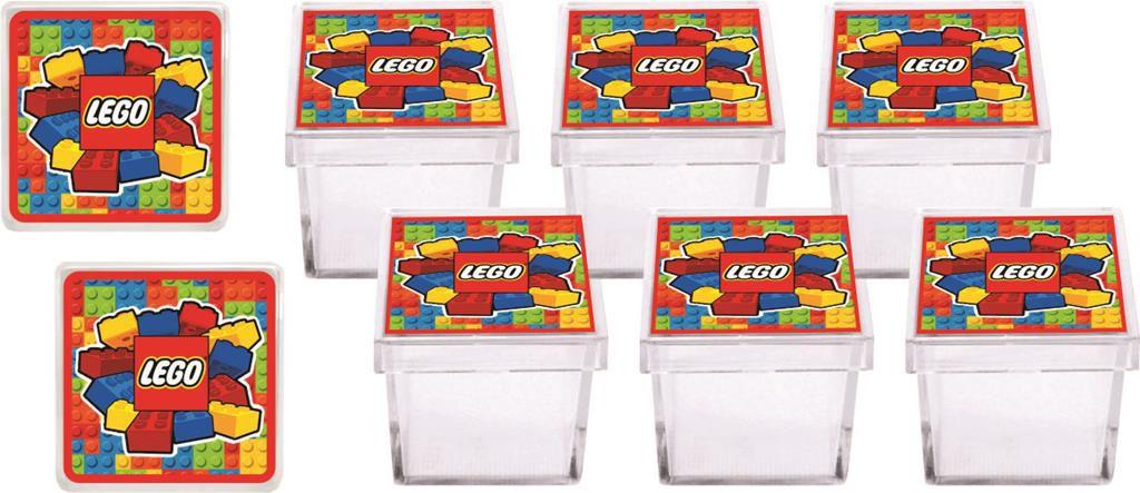 Kit festa Lego 107 peças (10 pessoas)