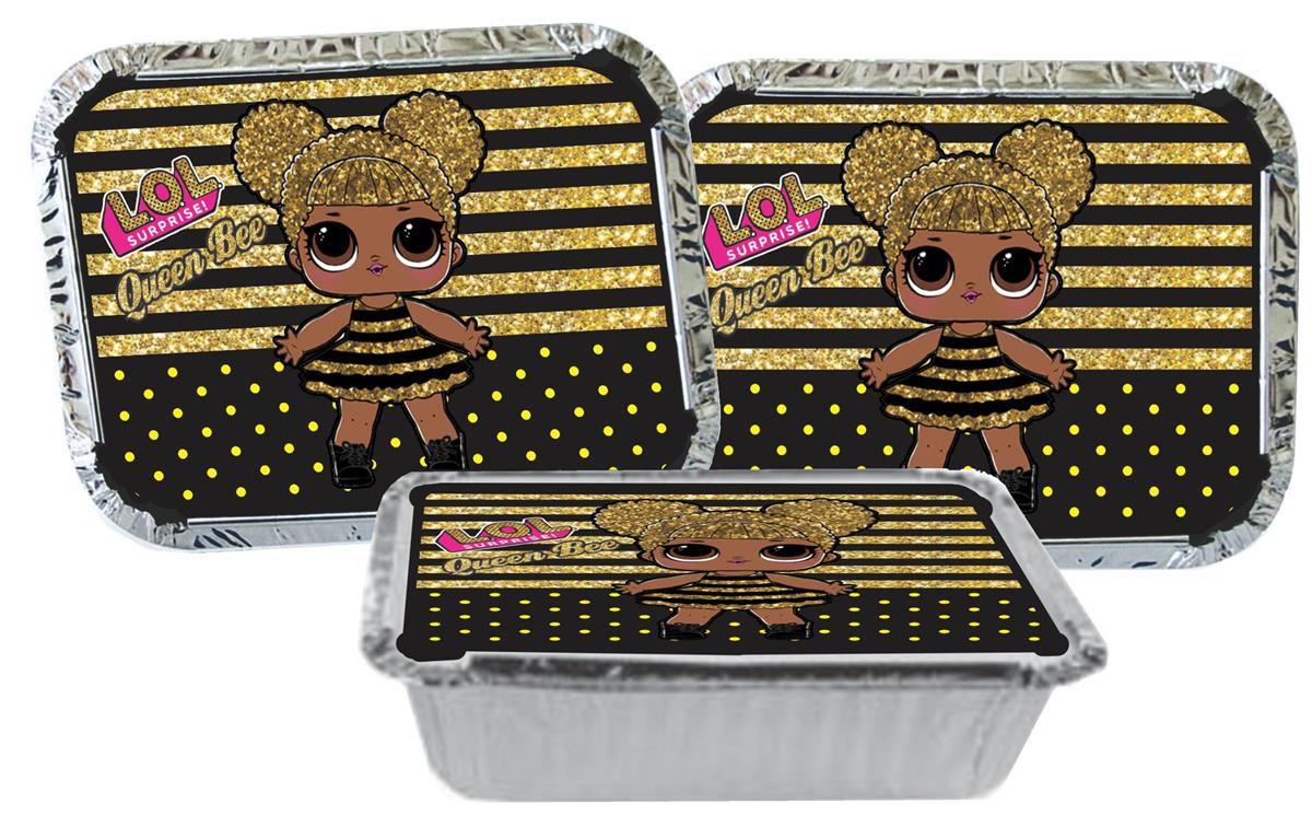 Kit festa Lol Queen Bee 152 peças (20 pessoas)
