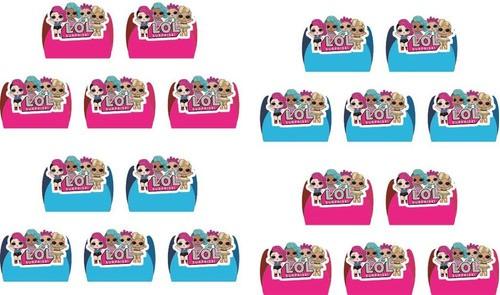 Kit Festa Lol Surprise (pink E Azul Claro) 106 Peças (10 pessoas)