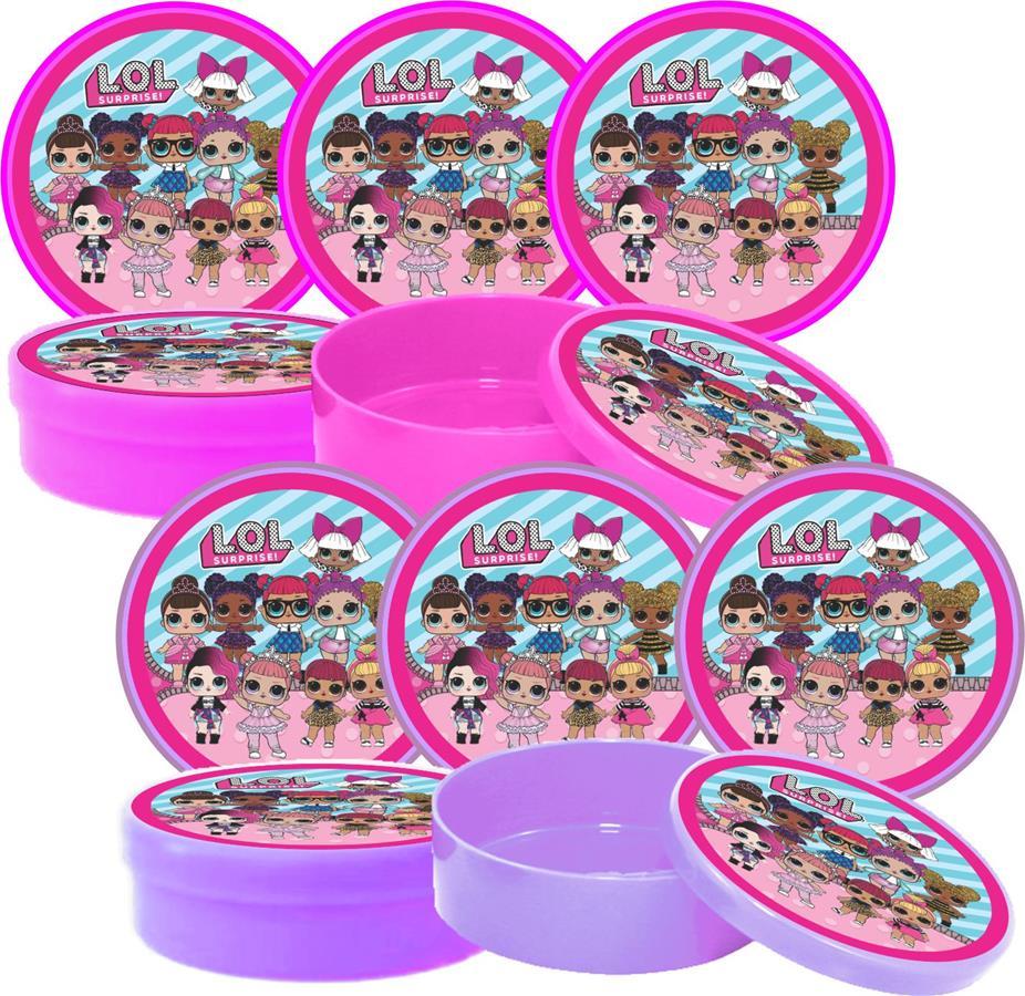 Kit Festa Lol Surprise (pink E Lilás) 155 Peças (20 pessoas)