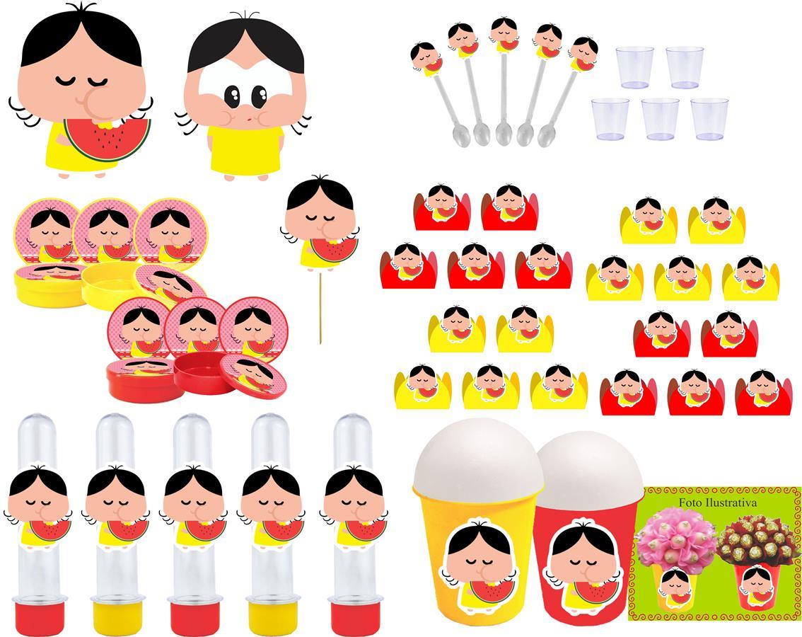 Kit Festa Magali Toy 155 Peças (20 pessoas)