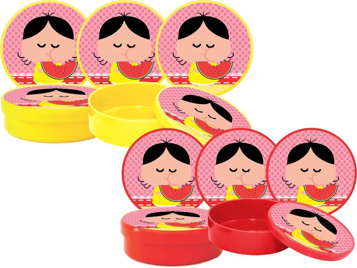 Kit festa Magali Toy 161 peças (20 pessoas)