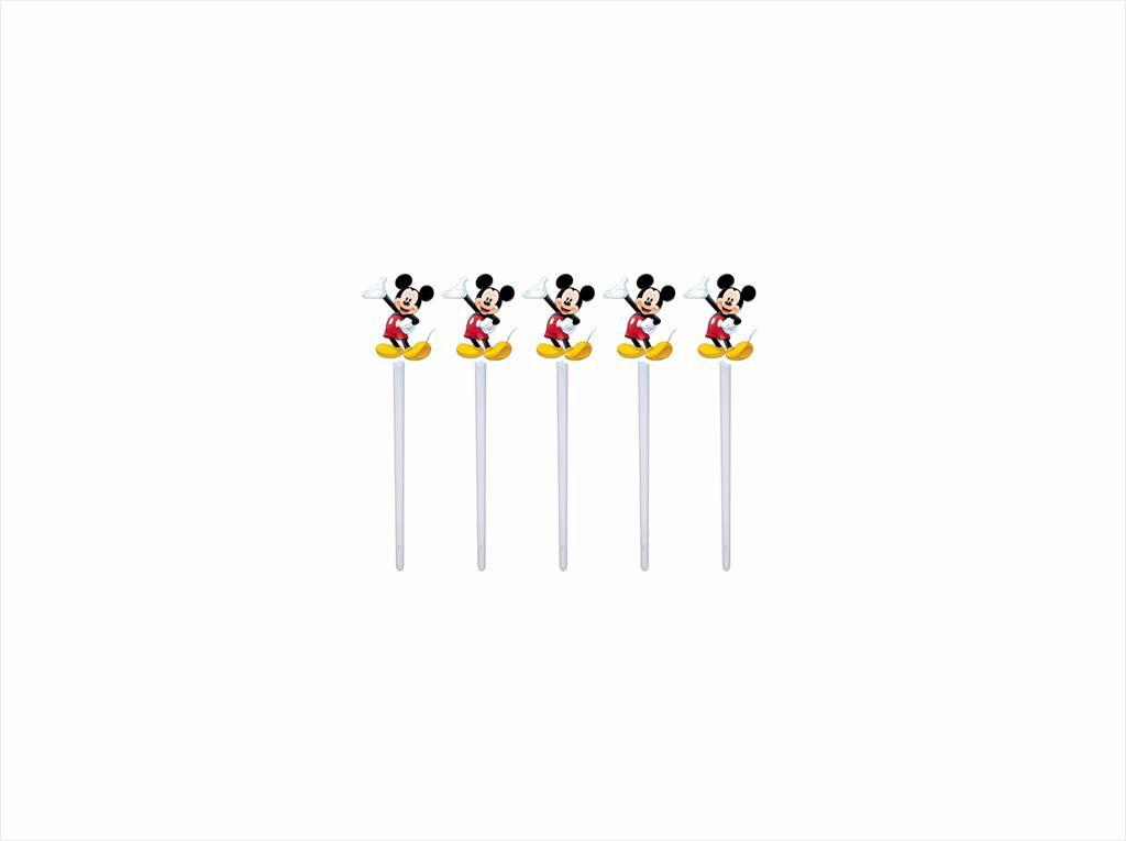Kit festa Mickey 105 peças (10 pessoas)