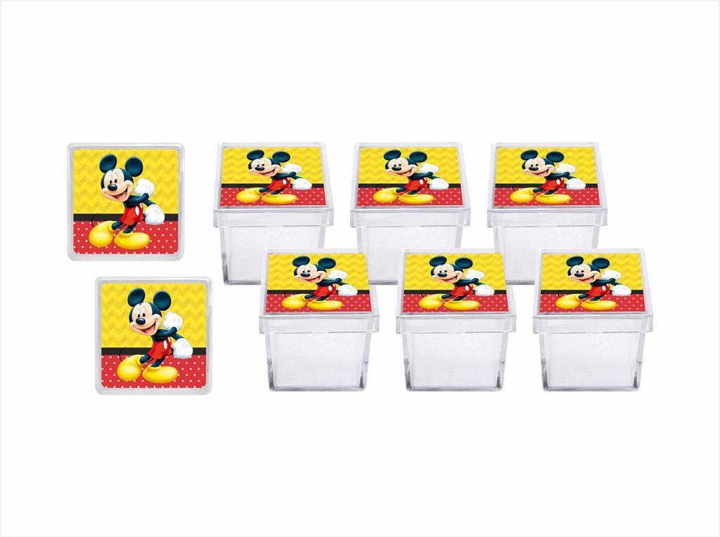 Kit festa Mickey 121 peças (10 pessoas)
