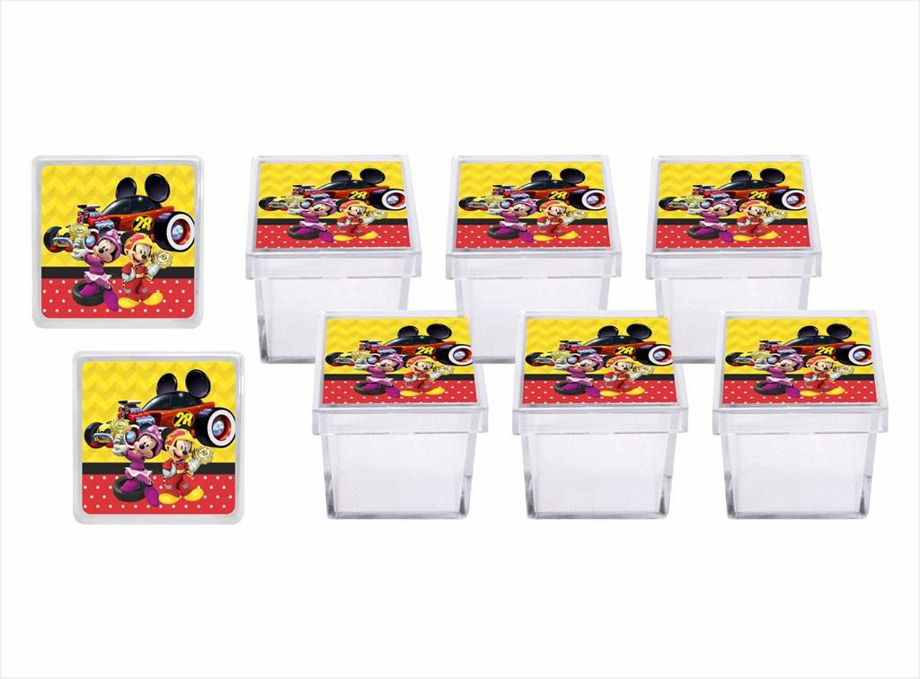 Kit festa Mickey Sobre Rodas 113 peças (10 pessoas)