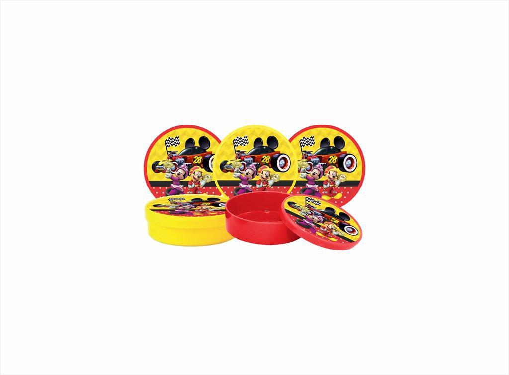 Kit festa Mickey Aventura Sobre Rodas 121 peças (10 pessoas)
