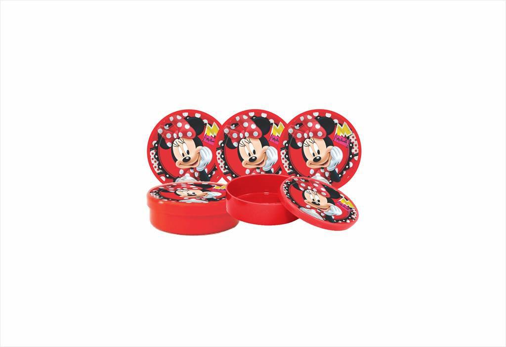 Kit festa Minnie vermelha 121 peças (10 pessoas)