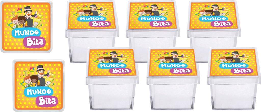 Kit festa Mundo Bita 103 peças (10 pessoas)
