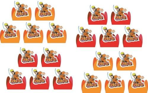 Kit festa Naruto 320 peças (30 pessoas)
