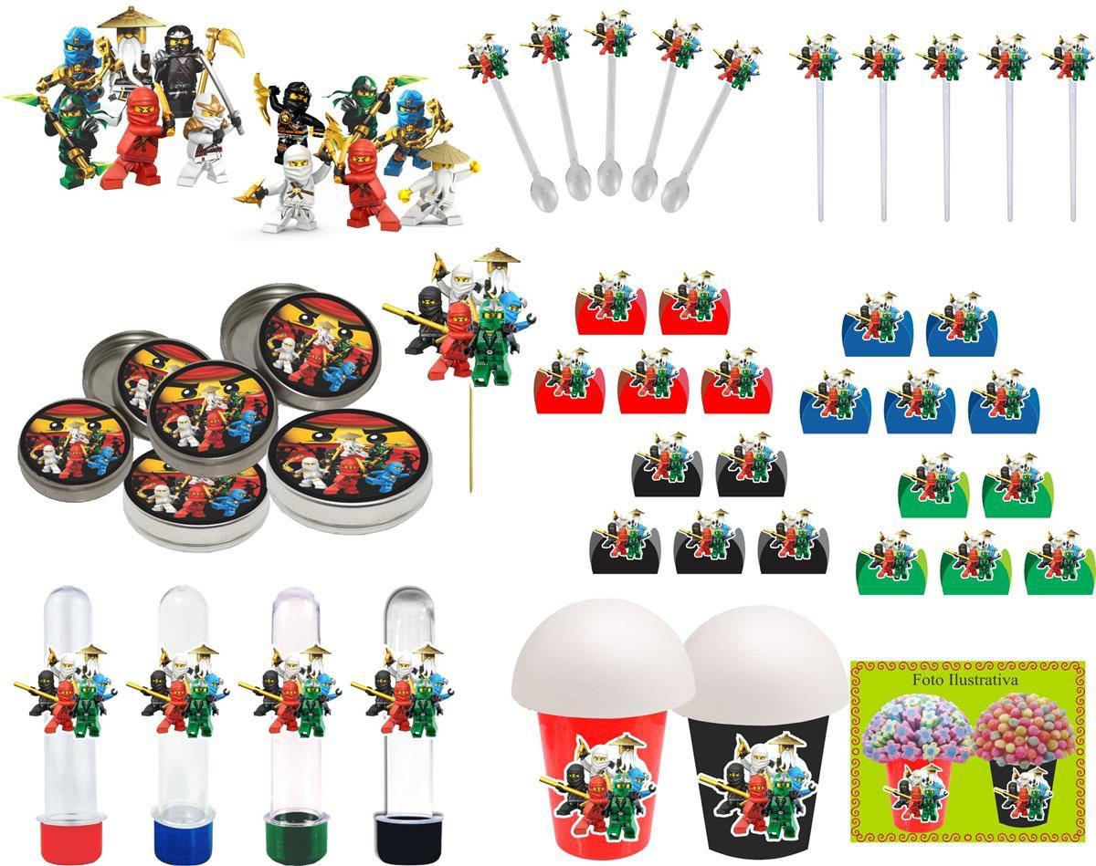 kit festa Ninja Go 143 peças