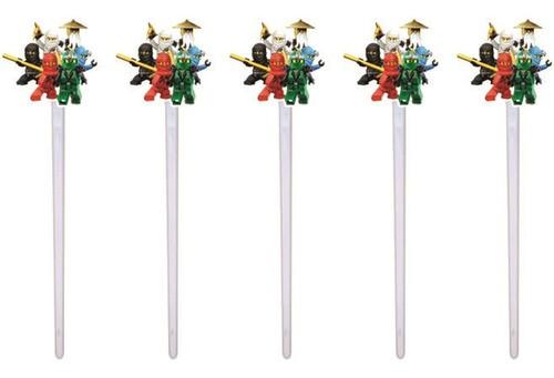 Kit festa Ninjago 99 peças (10 pessoas)