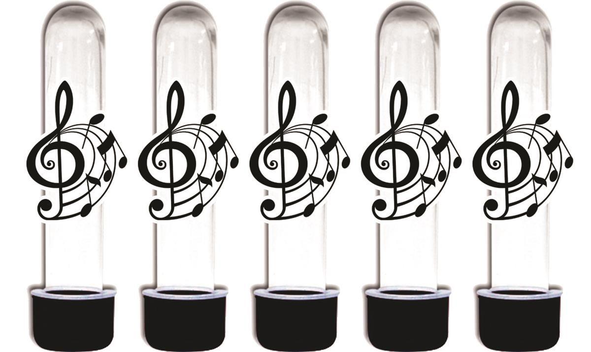 Kit Festa Notas Musicais 143 Pecas (20 pessoas)