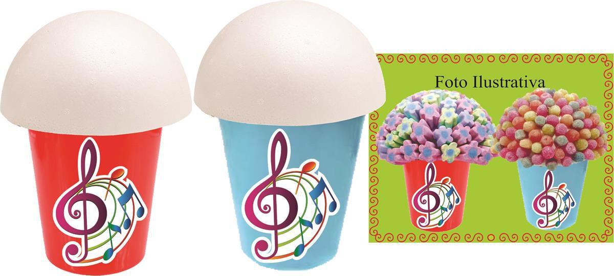 Kit Festa Notas Musicais Coloridas 143 Pecas (20 pessoas)