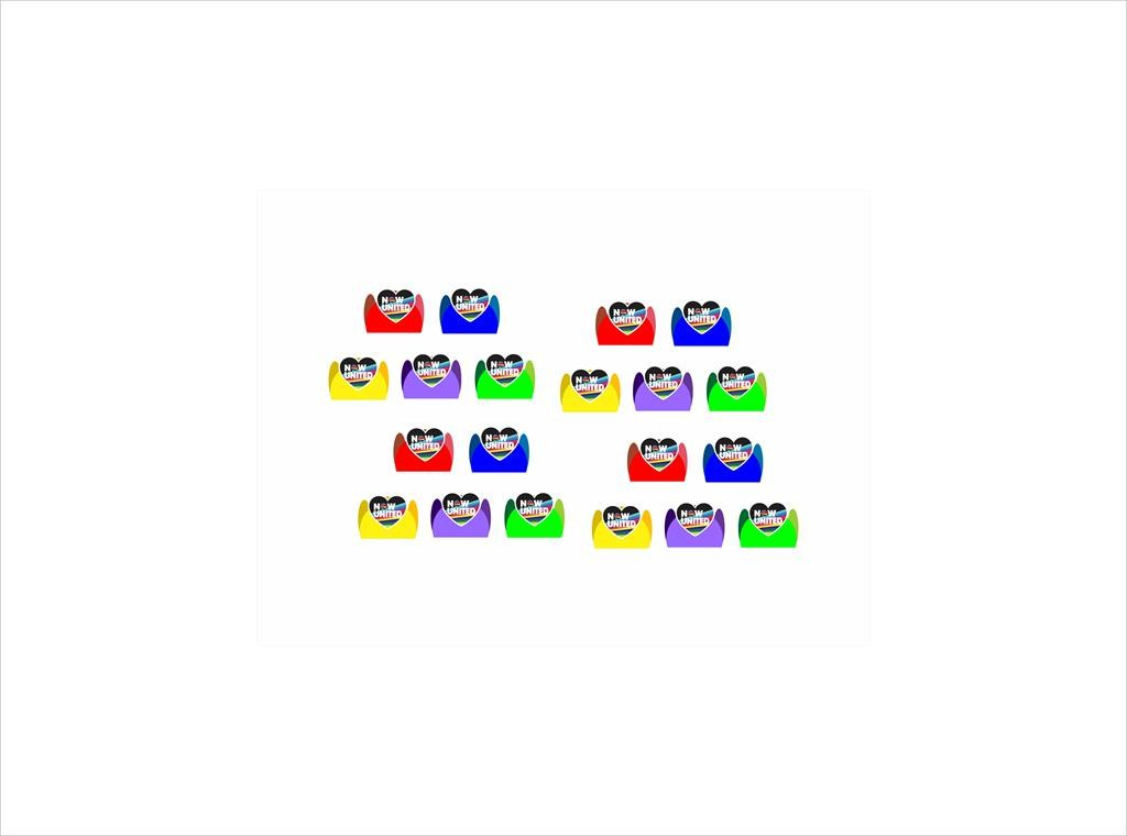 Kit festa Now United (colorido) 61 peças