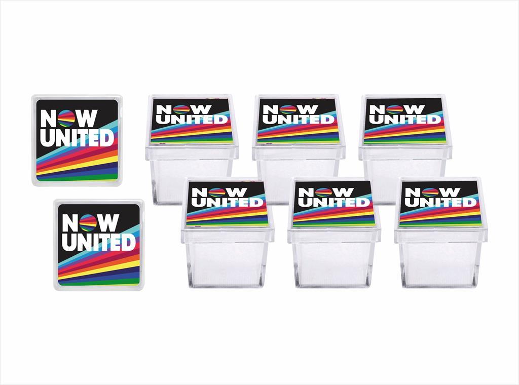 Kit festa Now United (preto) 121 peças (10 pessoas)