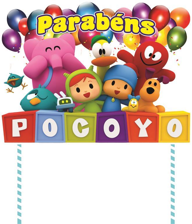 Kit festa Pocoyo 61 peças