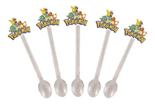 Kit festa Pokémon (Pikachu) 99 peças (10 pessoas)