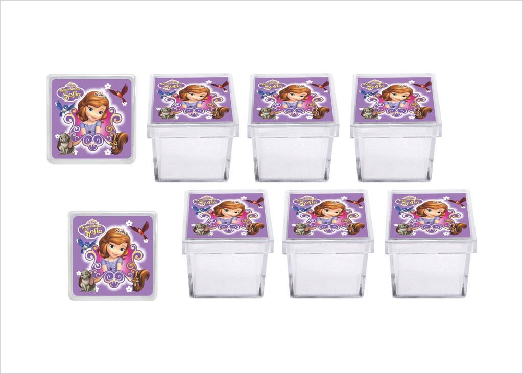 Kit festa Princesa Sofia 113 peças (10 pessoas)
