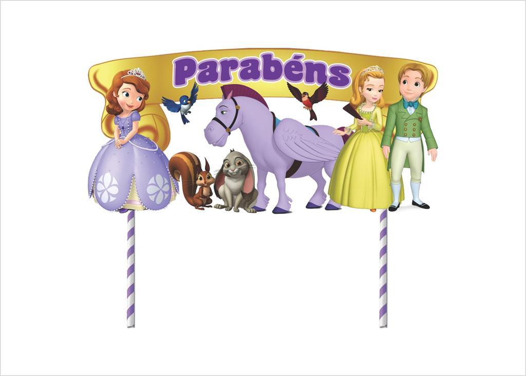 Kit festa Princesa Sofia 191 peças (20 pessoas)