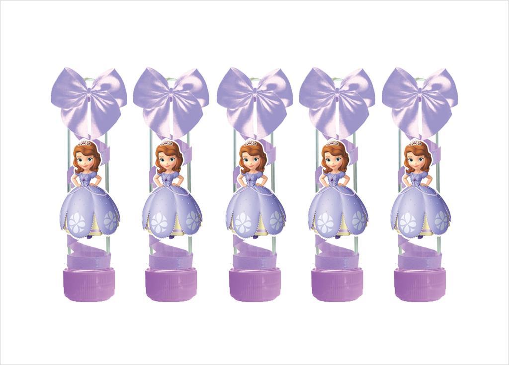 Kit festa decorado Princesa Sofia   121 peças (10 pessoas)