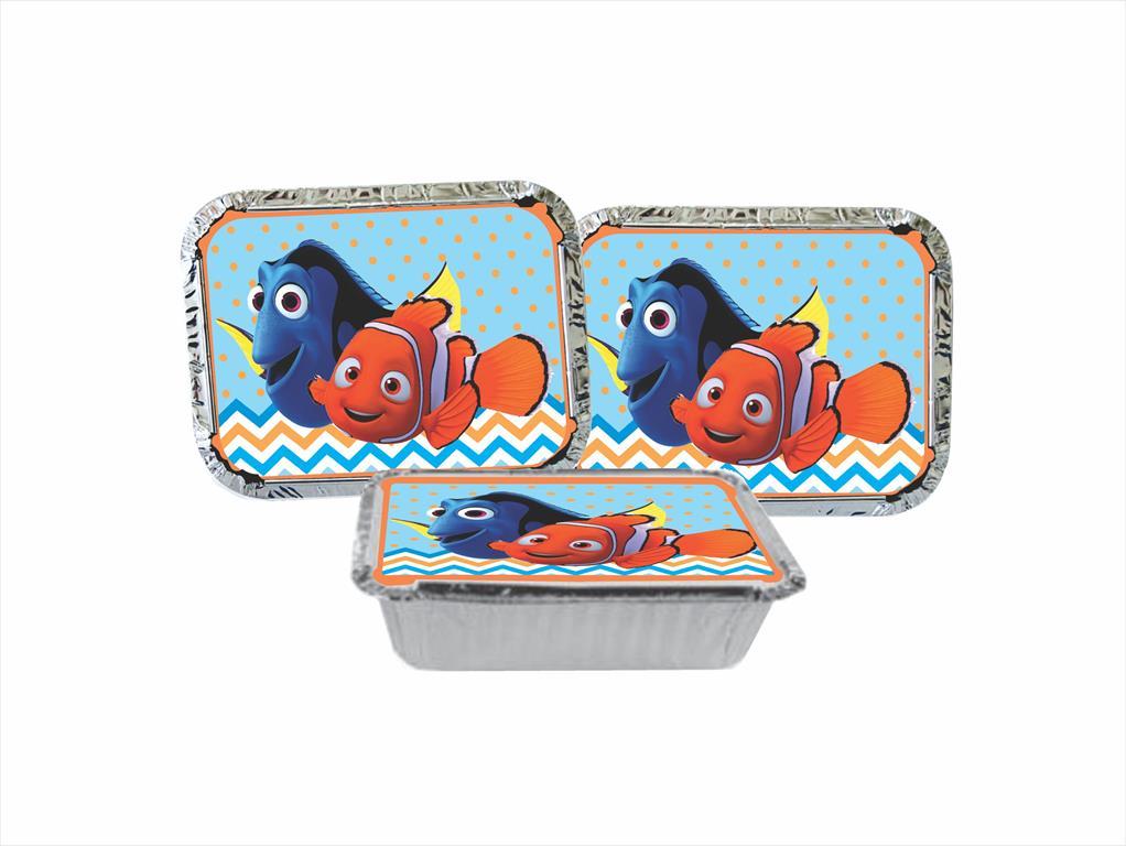 Kit festa Procurando Nemo 121 peças (10 pessoas)