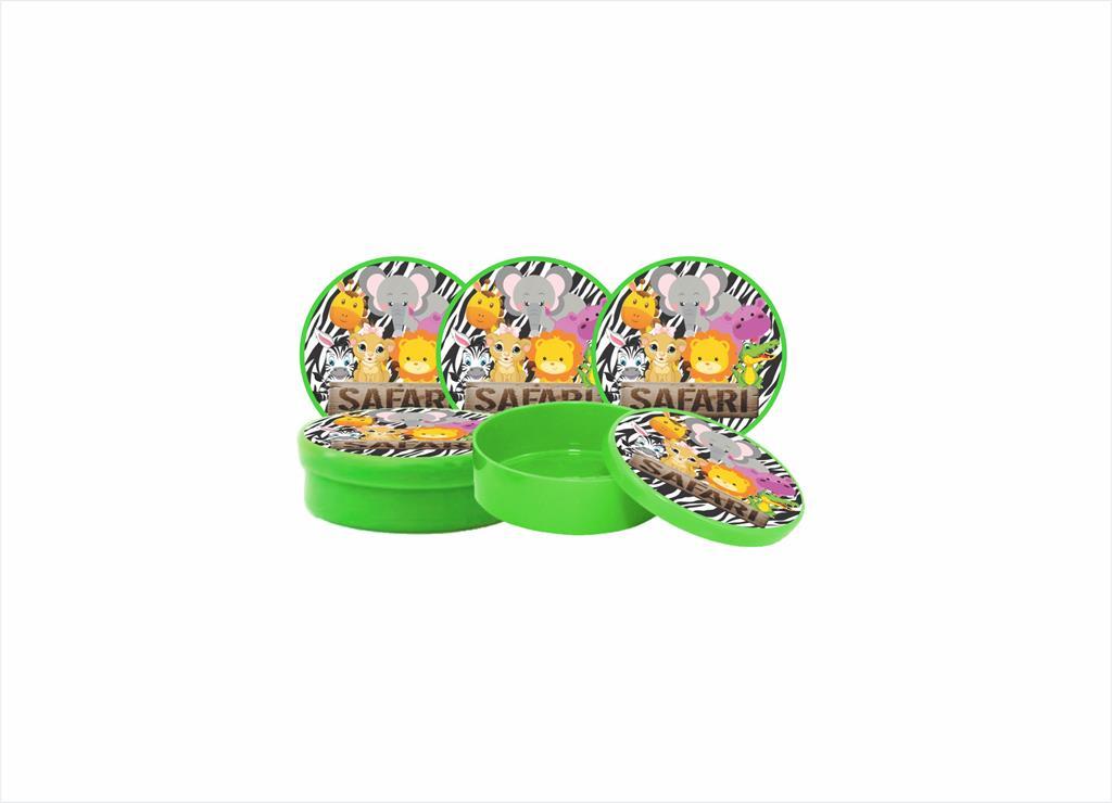 Kit Festa Safari Menino (verde escuro) 99 Peças (10 pessoas)