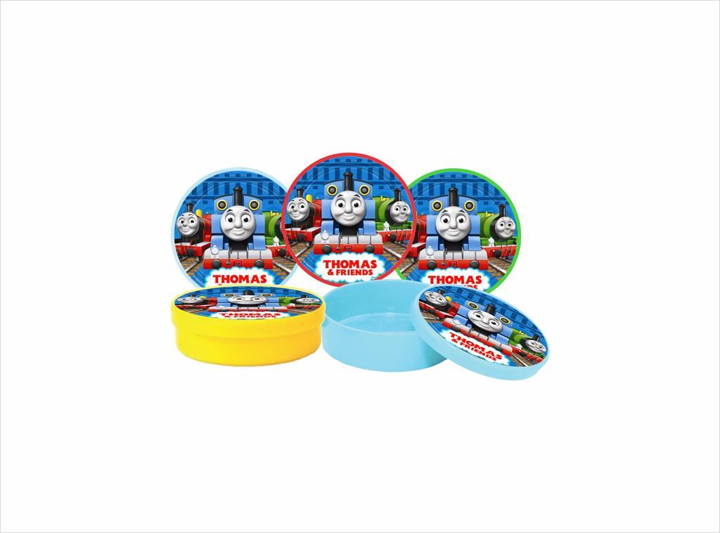 Kit festa Thomas e Seus Amigos (colorido) 121 peças (10 pessoas)