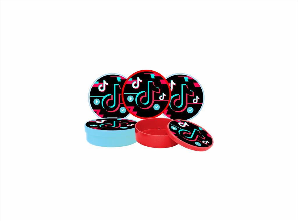 Kit festa Tik Tok (colorido) 191 peças (20 pessoas)